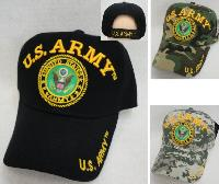 Licensed US Army Hat [Seal] *Assorted Colors